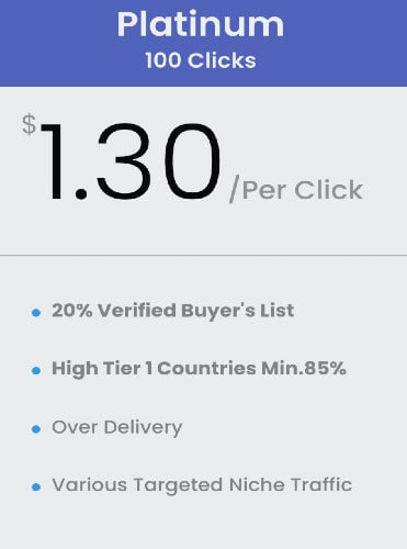 buy 100 Clicks Buyers List Solo Ads