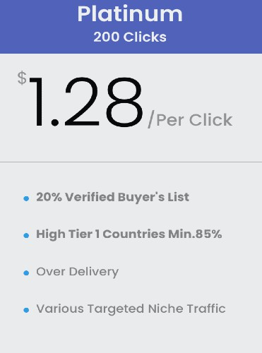 buy 200 clicks buyers list solo ads